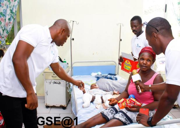 Granted Soul Entertainment @1, donates to St. Anthony Hospital (Photos)