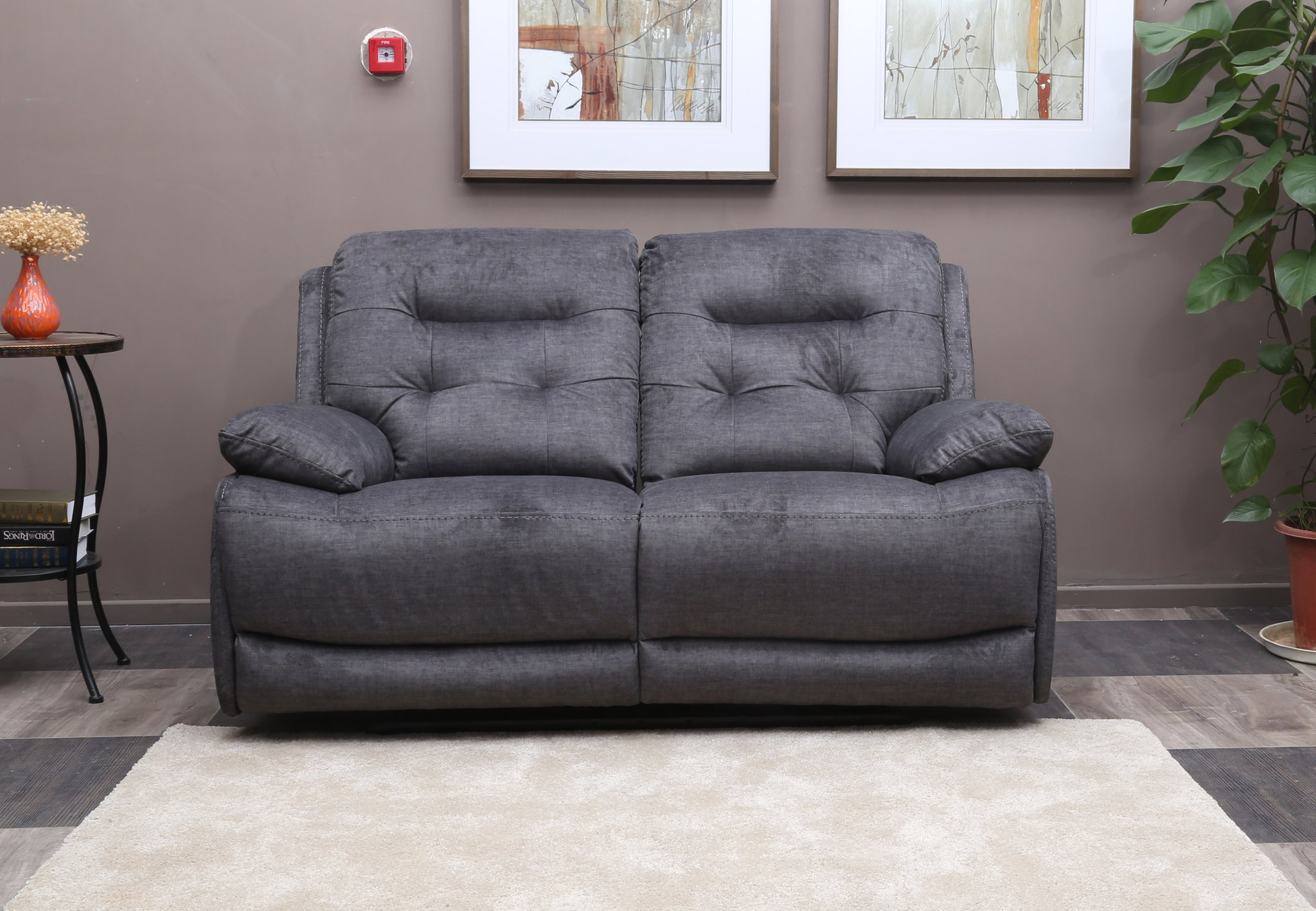 high quality sofa sets bonded leather repair louis set  wrapped in grey linen