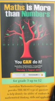 04 Poster MATH IS MORE THAN NUMBERS iklan kompetisi matematika di Australia 1 Agustus 2013 mendatang