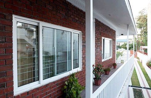 UPVC Sliding Windows Design