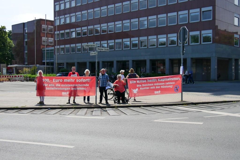 DKP-Protest am Stadthaus II
