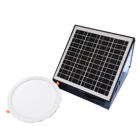 Solar Powered Indoor Light  Round  Diameter 300 mm