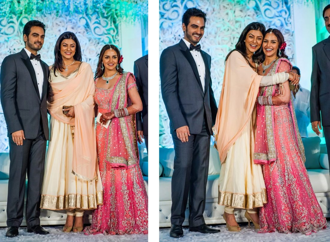 Esha Deol Wedding Reception Mumbai