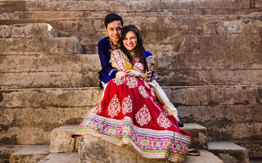 Pre wedding photographer in Patan Rani ni vav