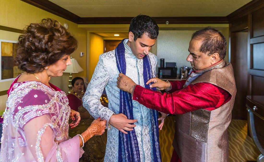 Indian Destination wedding photographer Michigan
