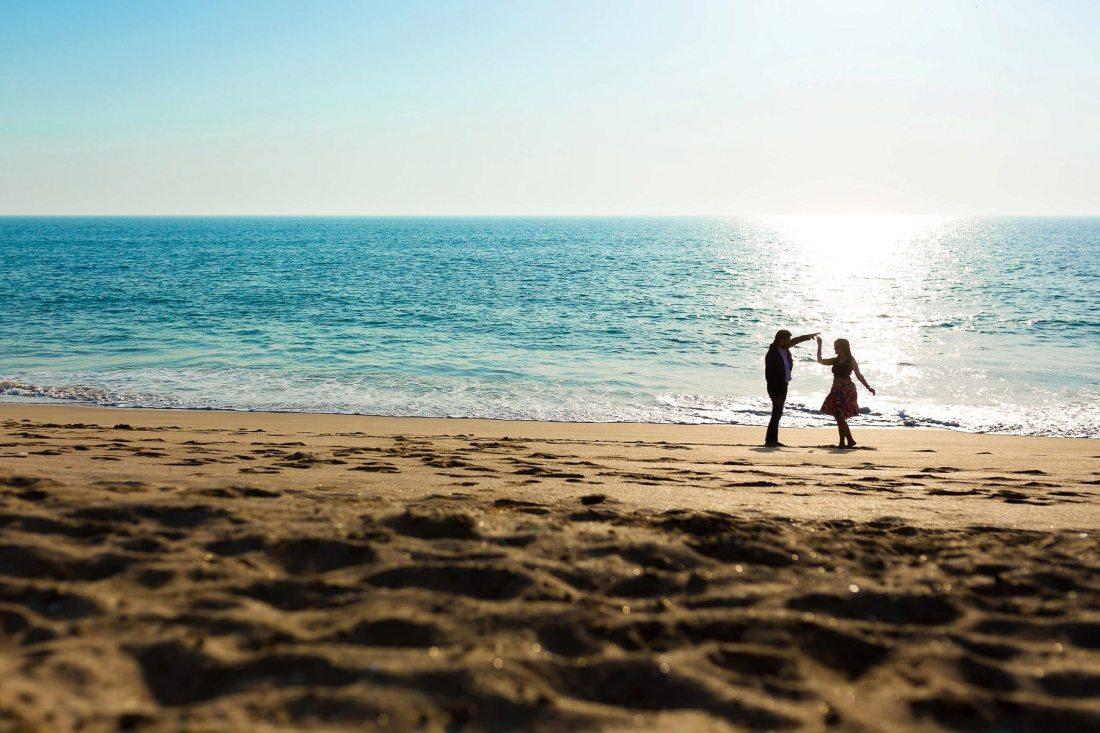 Goa Beach Engagement Shoot