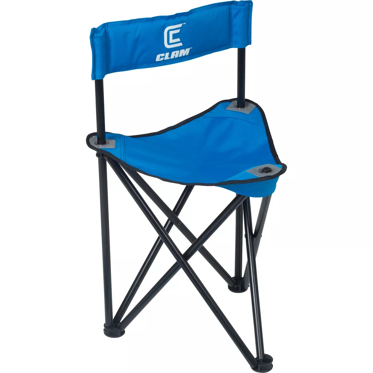 ice fishing lawn chair small white for bedroom clam folding tripod dick s sporting goods 1