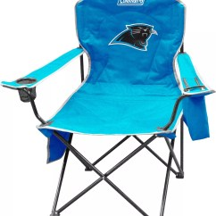 Carolina Panthers Folding Chairs Turquoise Chair Covers Coleman Xl Quad With Cooler Dick S Noimagefound 1