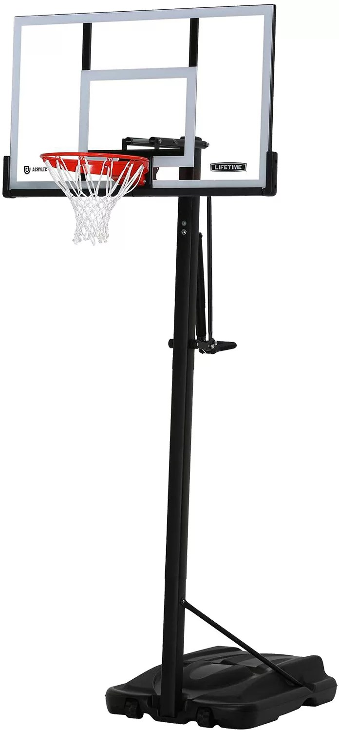 Lifetime Elite Series Basketball Hoop : lifetime, elite, series, basketball, Lifetime, Steel, Framed, Acrylic, Portable, Basketball, DICK'S, Sporting, Goods