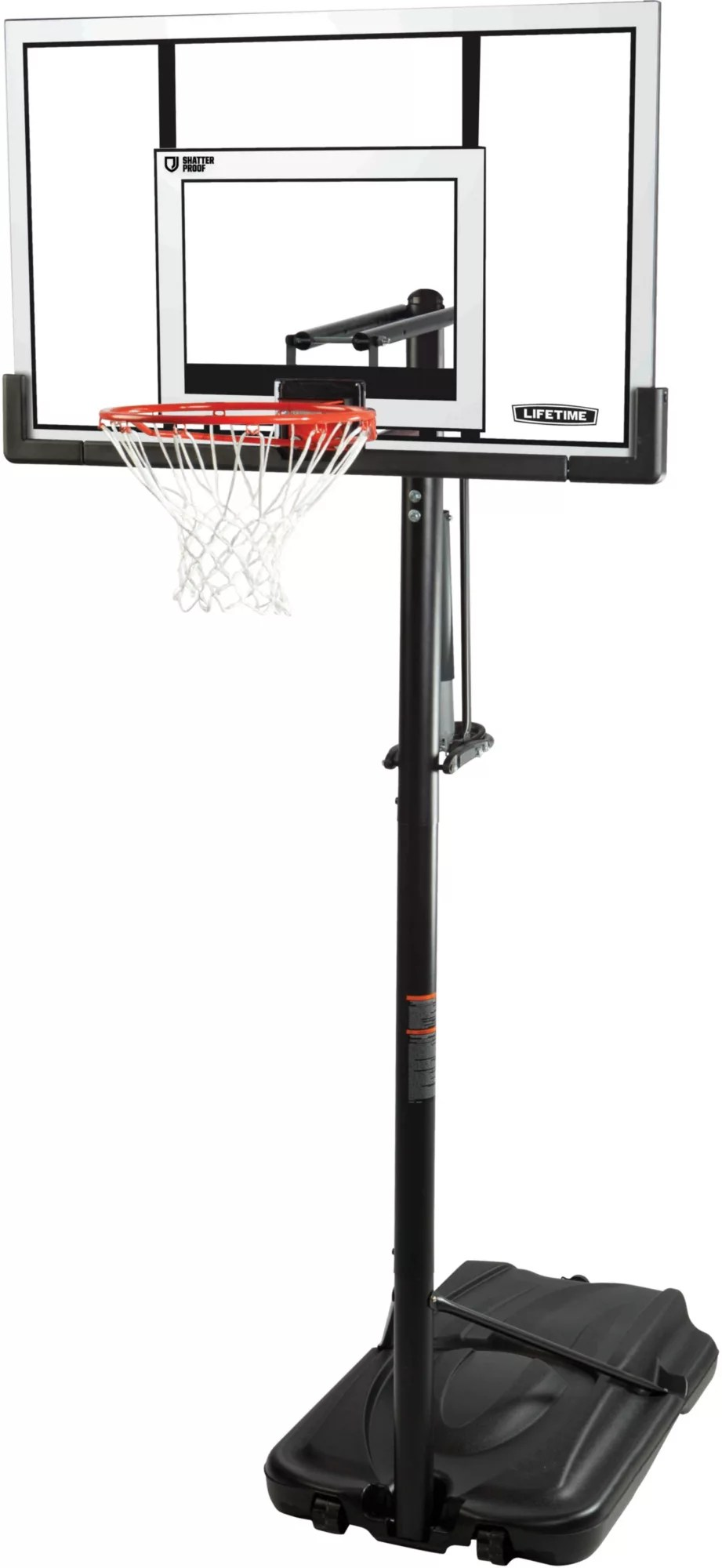 Lifetime Elite Series Basketball Hoop : lifetime, elite, series, basketball, Lifetime, Portable, Basketball, Curbside, DICK'S