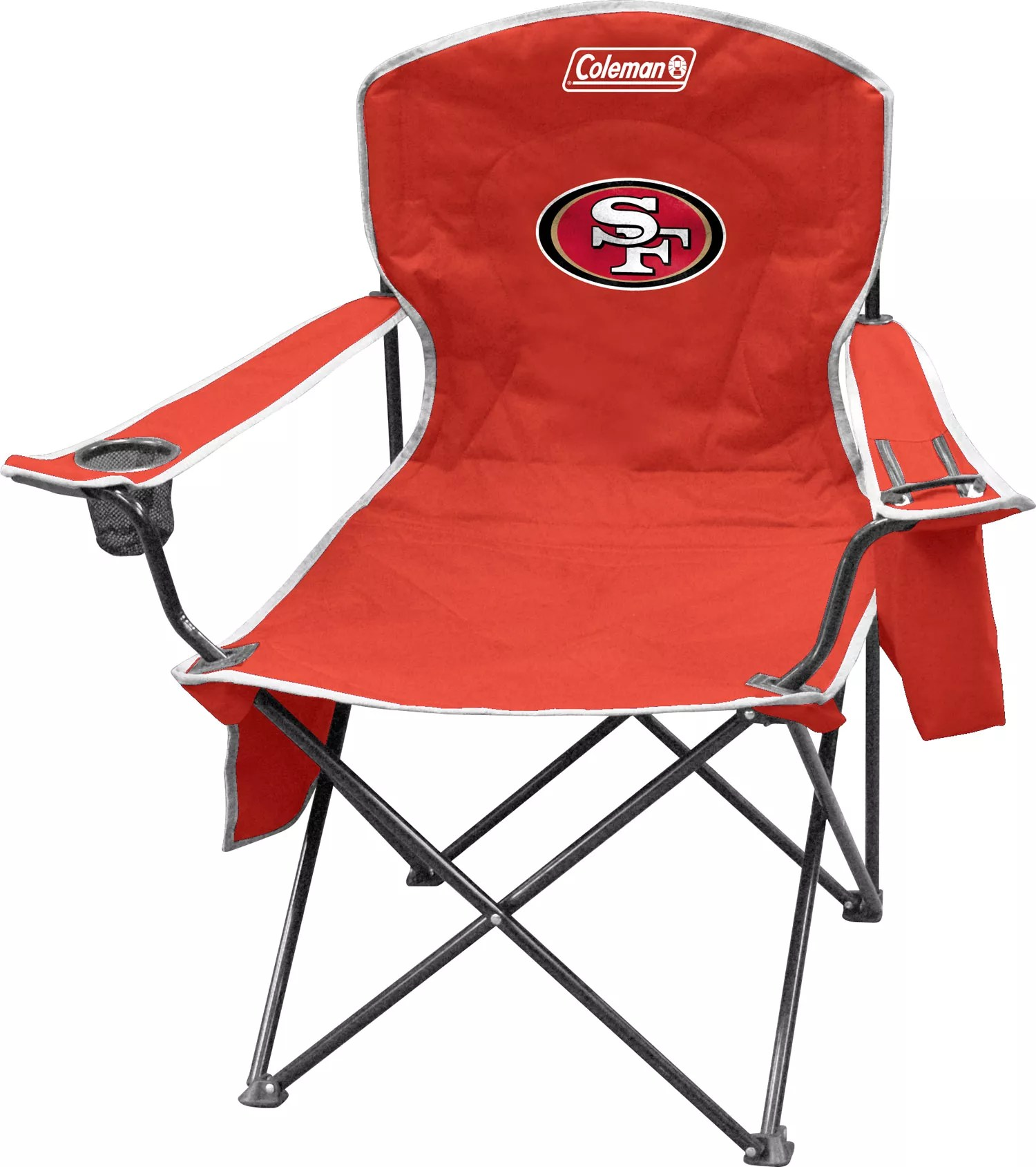 49ers camping chair rocking amazon coleman san francisco quad with cooler dick s sporting 1