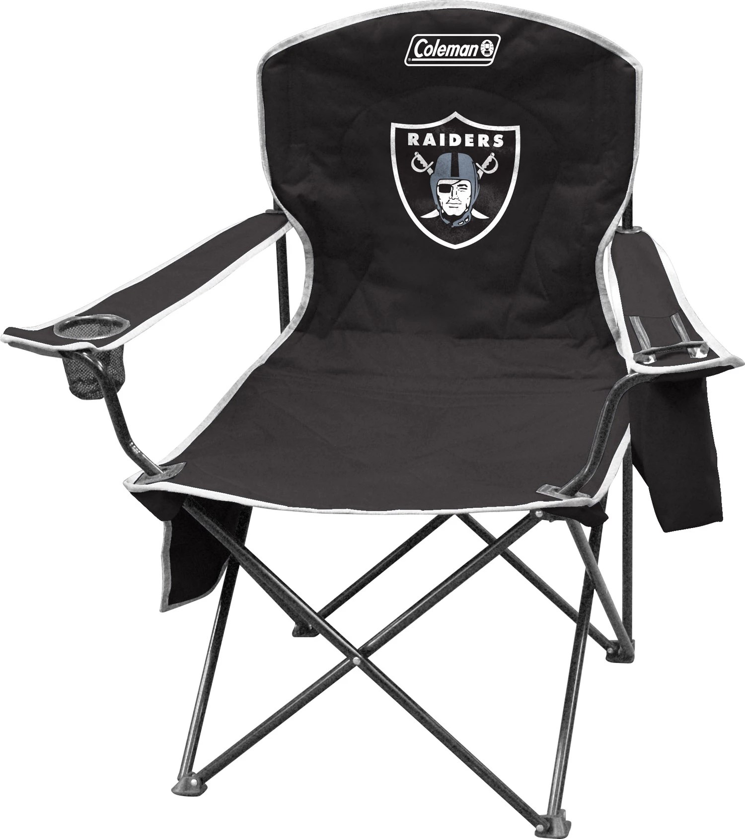 oakland raiders chair massage recliner chairs coleman quad with cooler dick s sporting goods noimagefound 1
