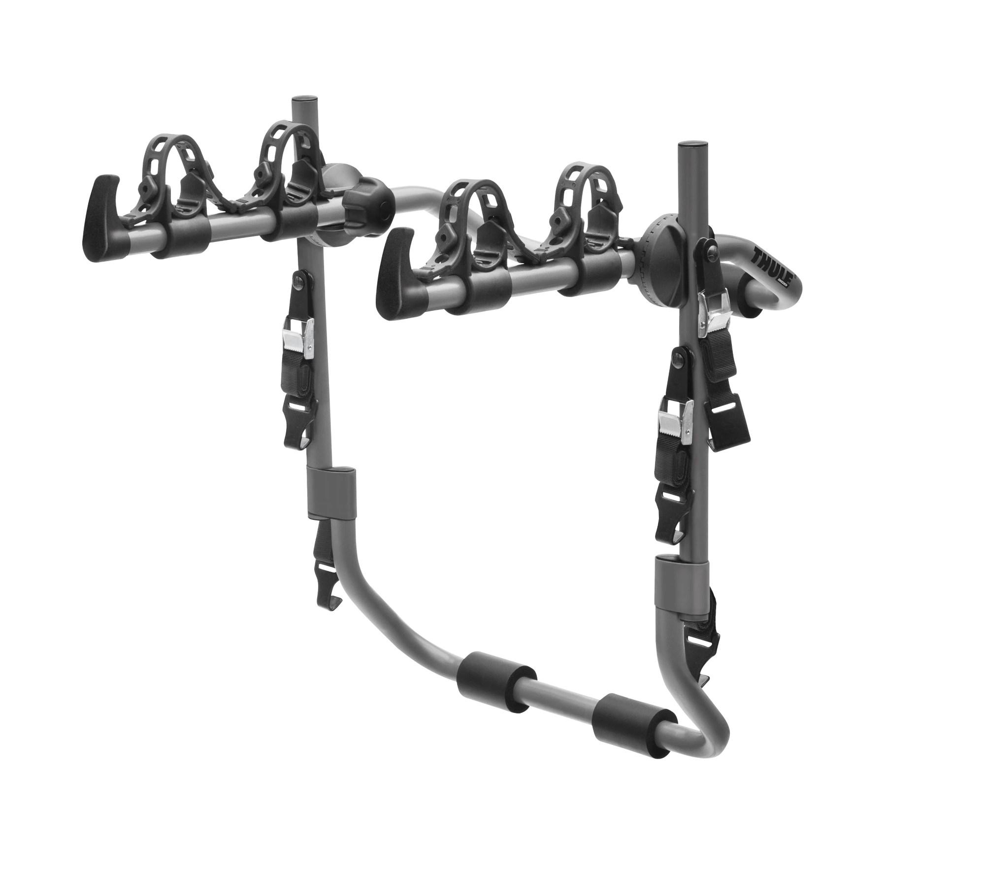 thule tempo trunk mount 2 bike rack
