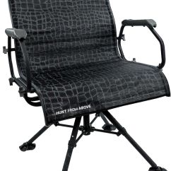 Swivel Hunting Chair Reviews Game Walmart Hawk Big Denali Blind Dick S Sporting Goods 1