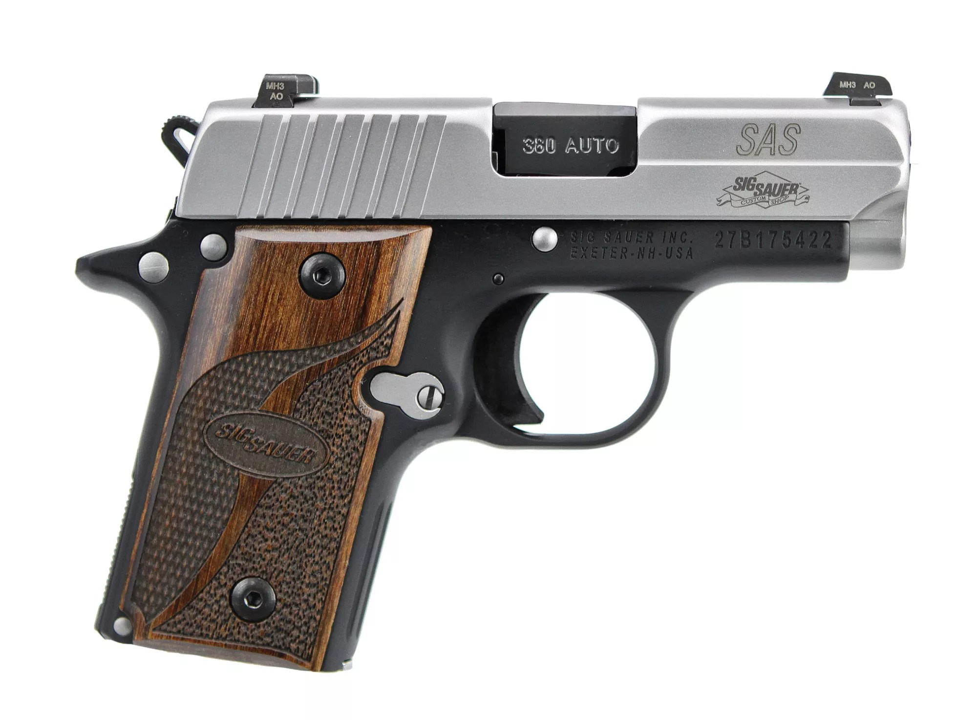 hight resolution of sig sauer p238 micro compact pistol 1