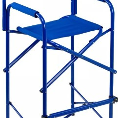 Tall Fishing Chair Leather Side Chairs Camping Folding Best Price Guarantee At Dick S Product Image E Z Up Directors