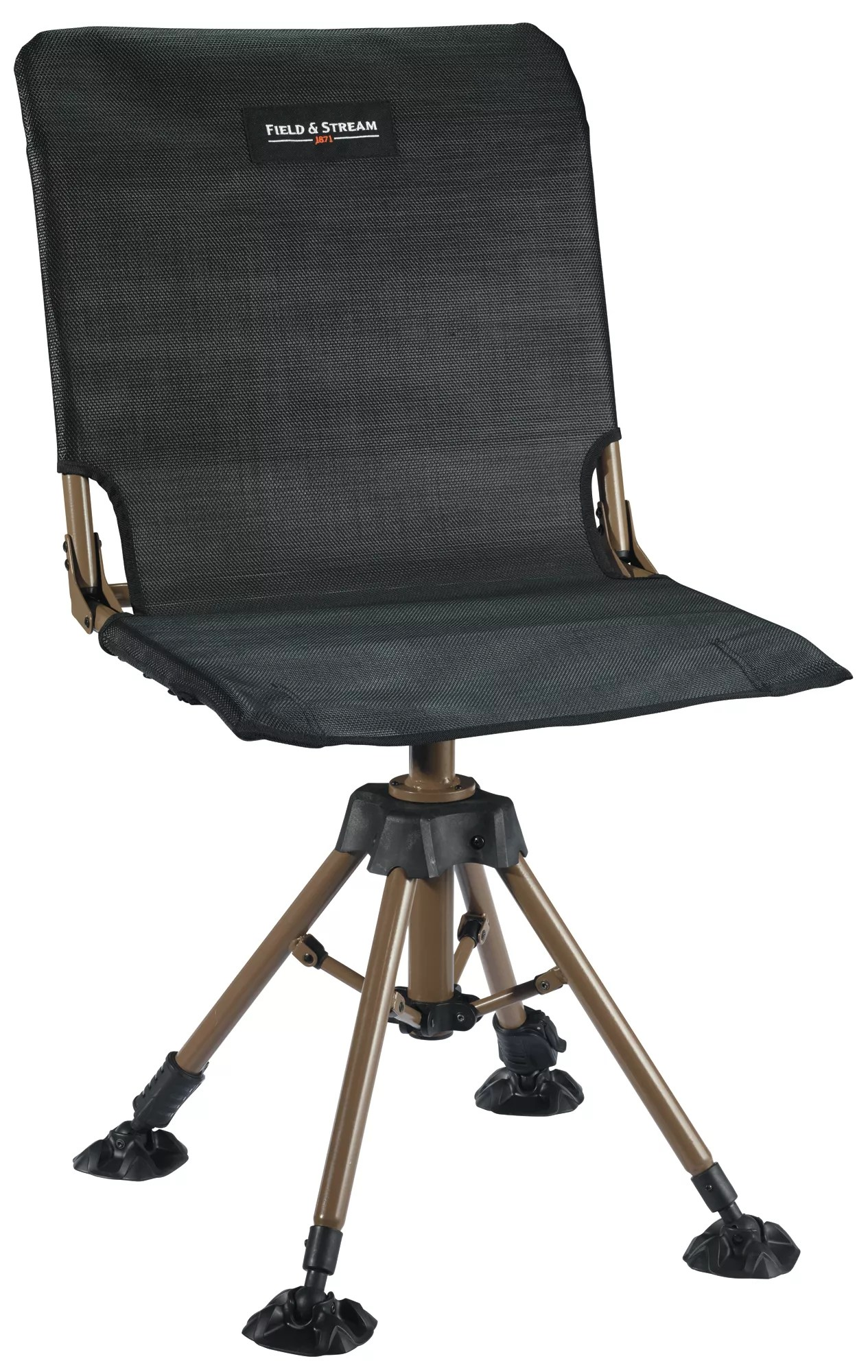 swivel hunting chair reviews kids table and set field stream rotating blind