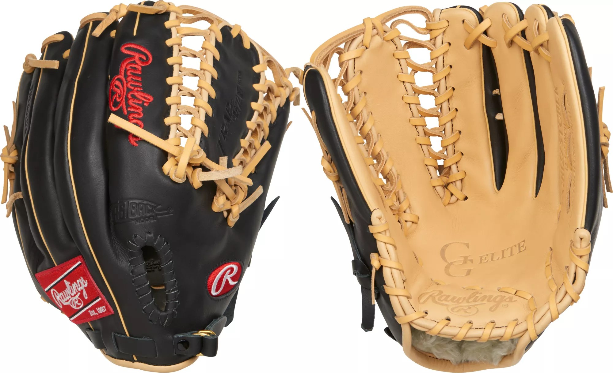 baseball glove chair home goods steel hs code rawlings 12 75 39 gg elite series dick 39s sporting