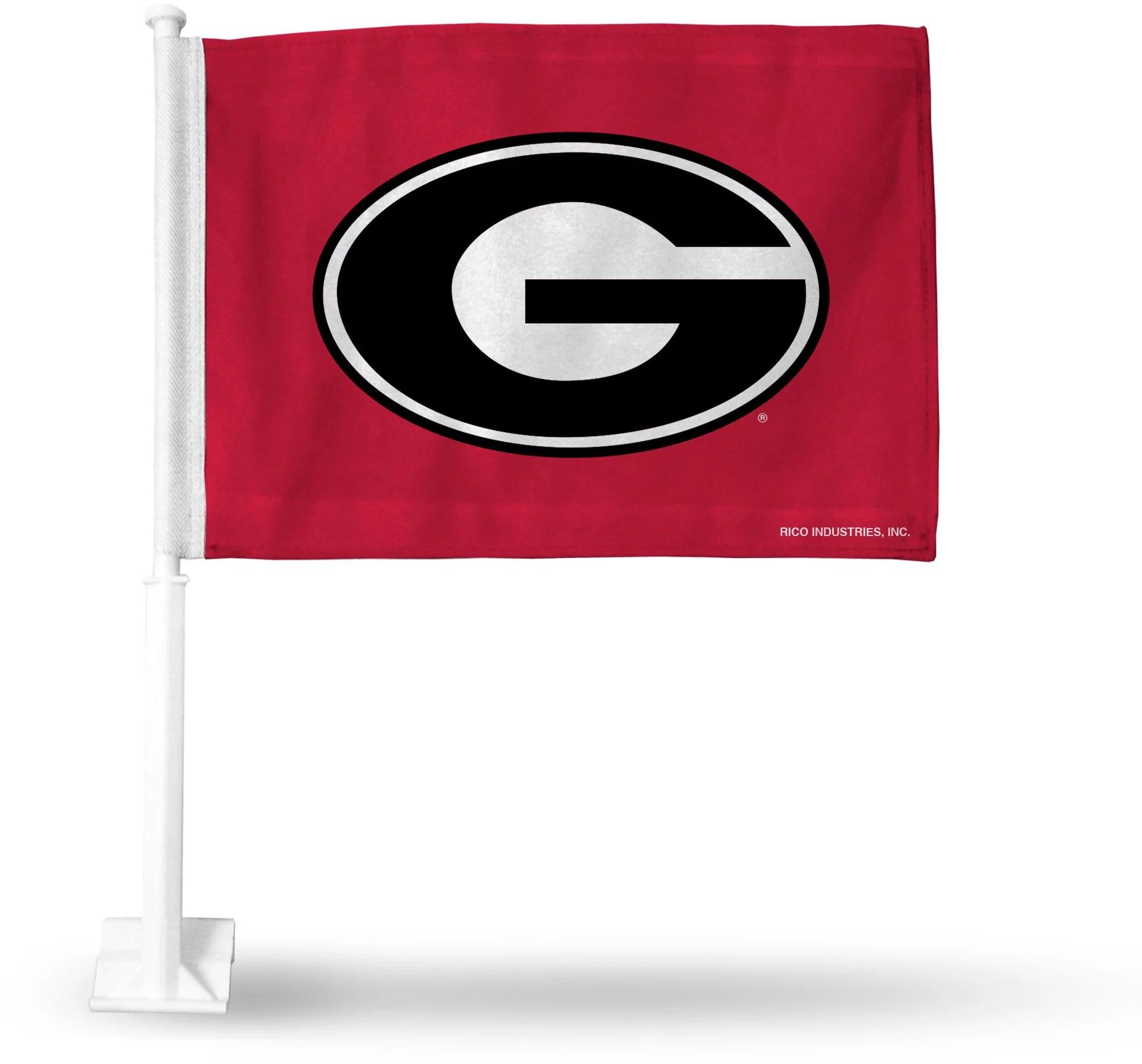 Rico Georgia Bulldogs Car Flag   DICK'S Sporting Goods