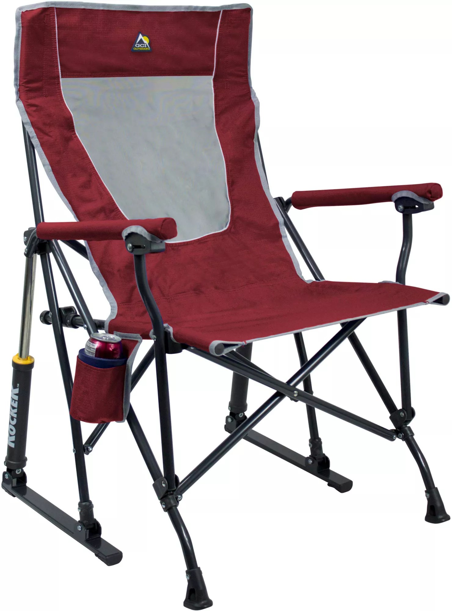 fishing chair no arms grey rolling dining chairs camping folding best price guarantee at dick s