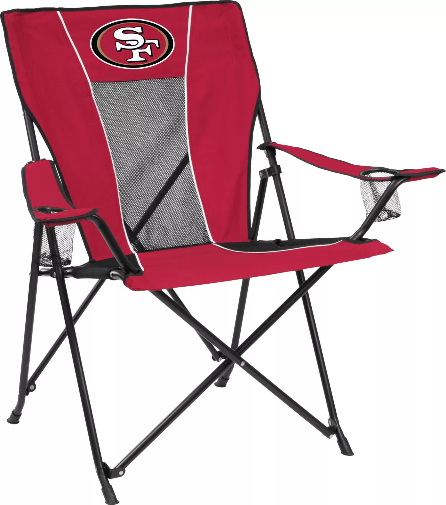 49ers camping chair swivel nursery san francisco game time dick s sporting