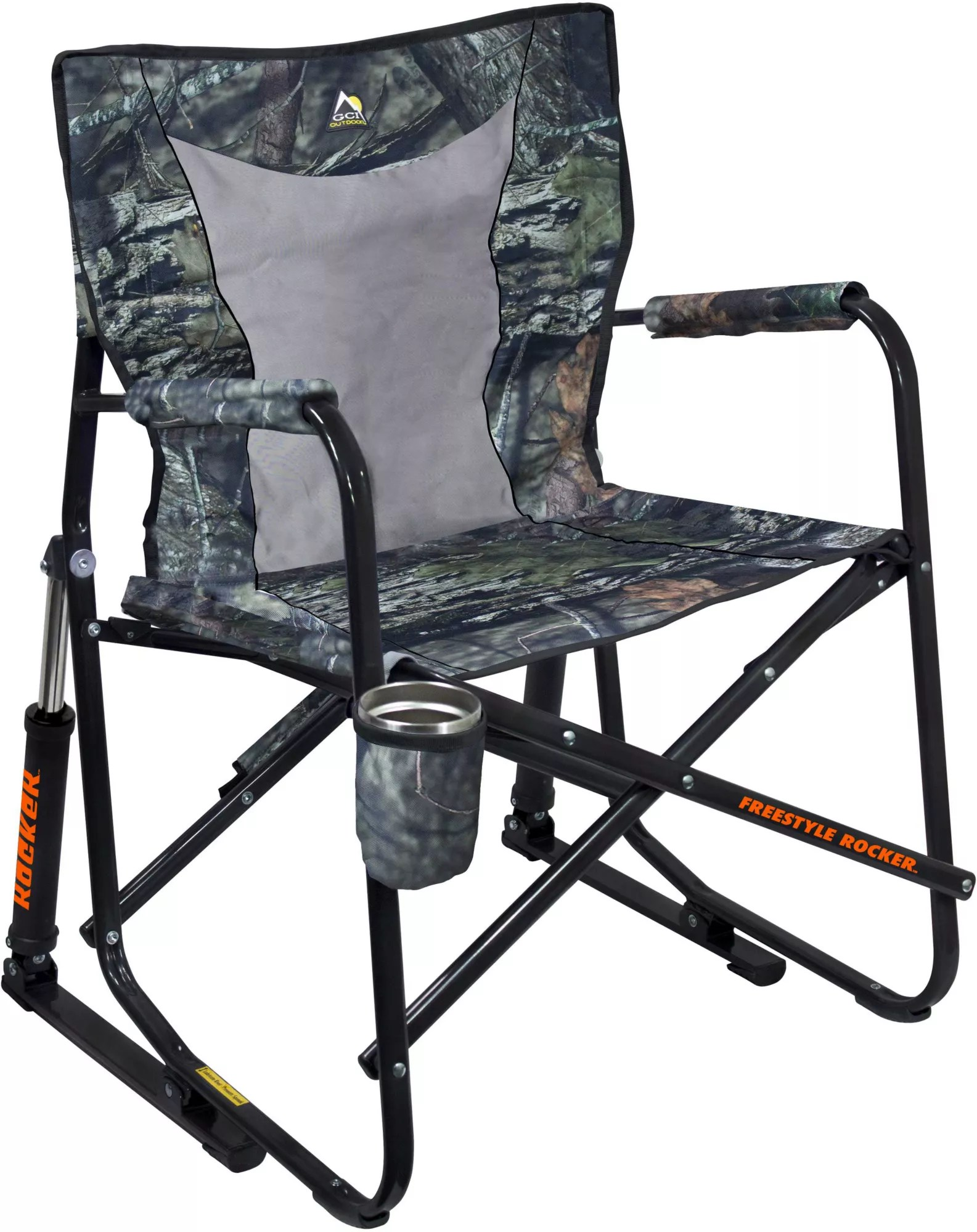 hunting seats and chairs bedside potty chair blind stools best price guarantee product image gci outdoor mossy oak freestyle rocker mesh