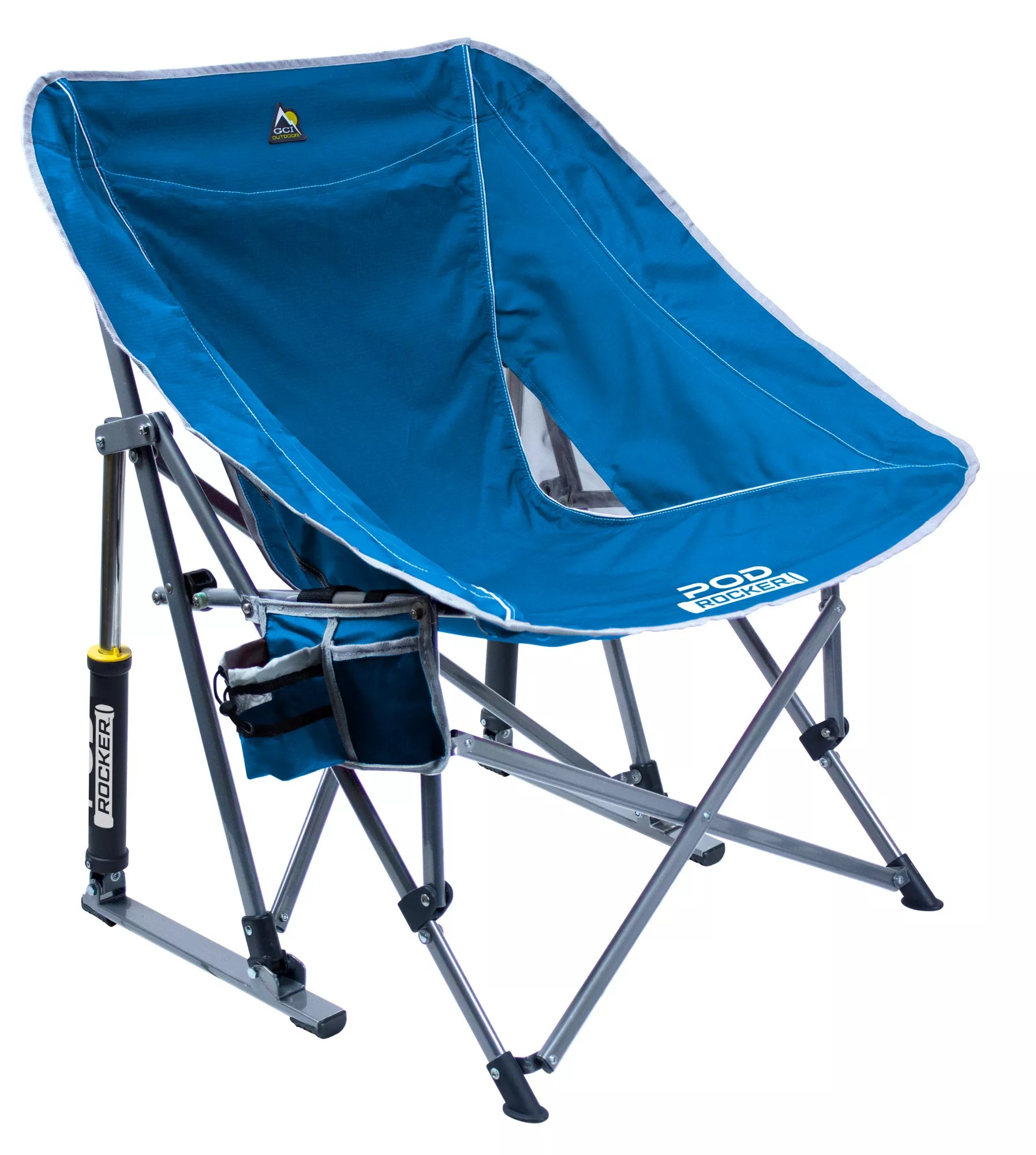 camping chairs with canopy fabric for folding best price guarantee at dick s product image gci outdoor pod rocker chair