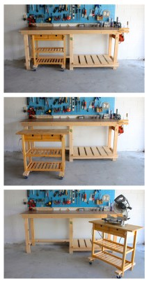 IKEA Garage Workbench Ideas