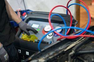 Vi har udstyr til både klima- og A/C-anlæg