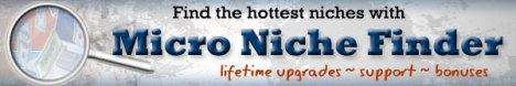 Micro Niche Finder Discount