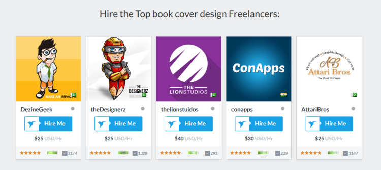 ebook designer prices