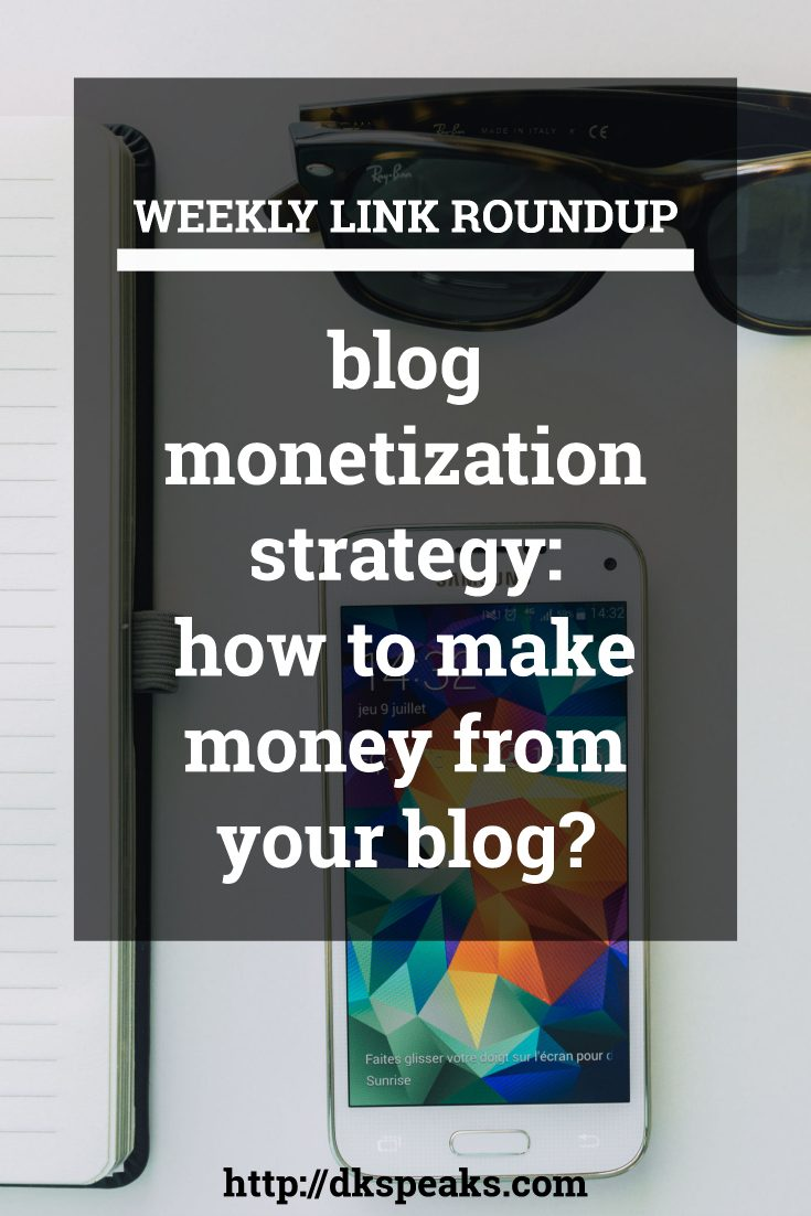 blog monetization strategy