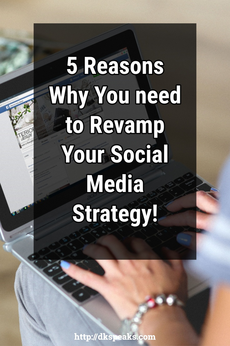 revamp social media strategy