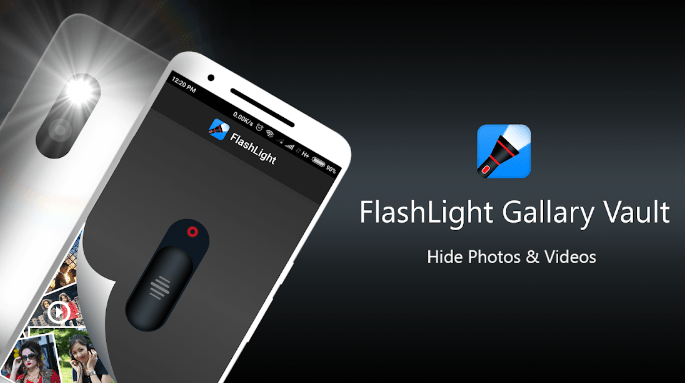 Flashlight Gallery Vault