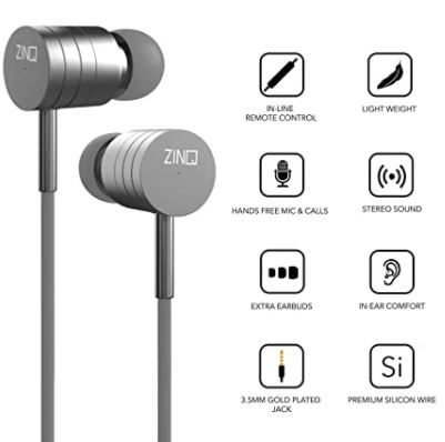 Zinq earphone