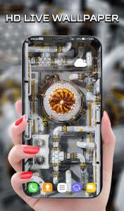 Cyberpunk 3D Live Wallpaper