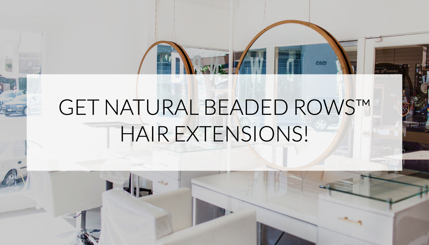 Get Natural Beaded Rows Hair Extensions