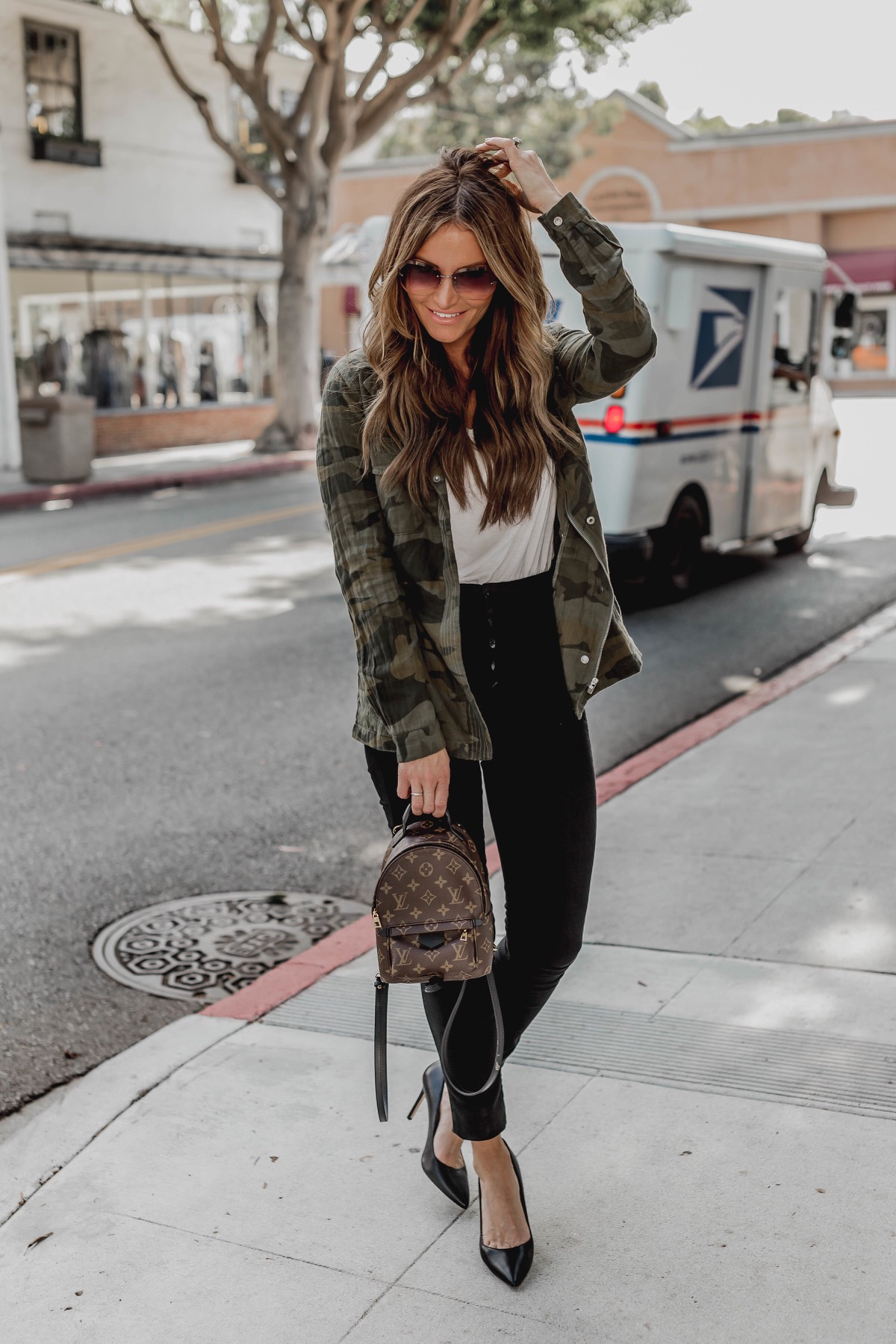 d7240daaad9f9 Camo Jacket Style #DKWFashion Friday   DKW Styling