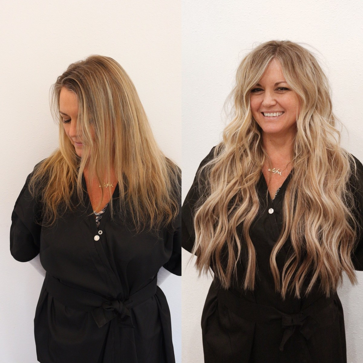 Natural Beaded Rows™ Hair Extensions