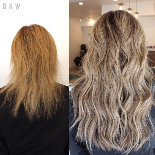 Natural Beaded Rows™ Hair Extensions by DKW Styling