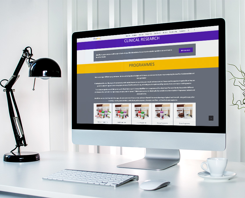Dream Bodies Graphic Design Website