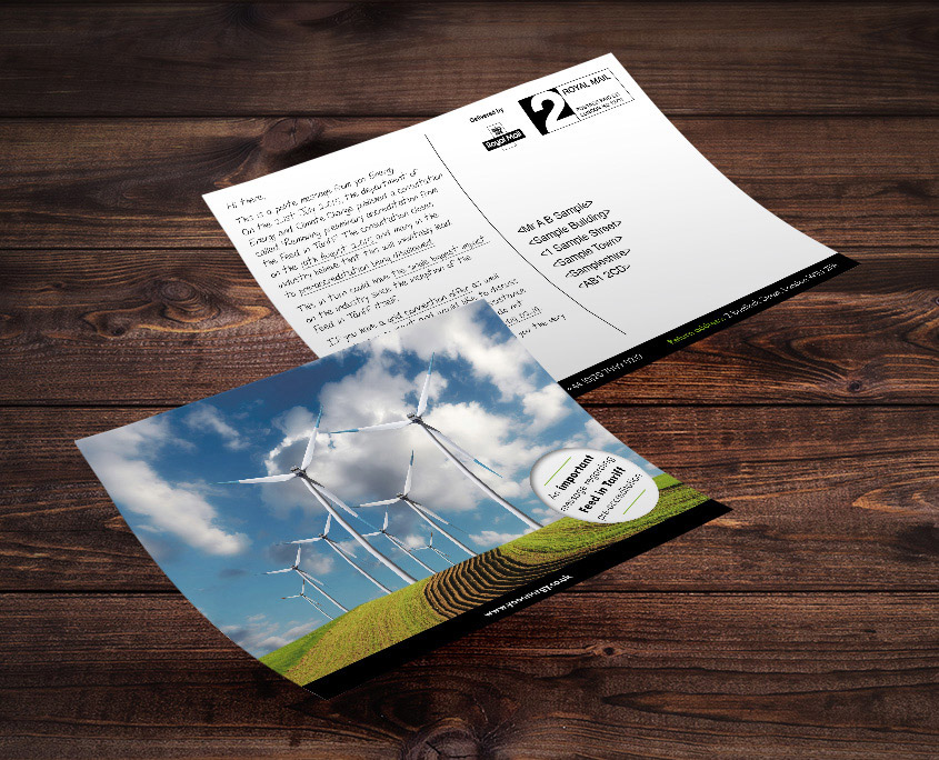 Yoo Energy Graphic Design Artwork Print PDF Postcard
