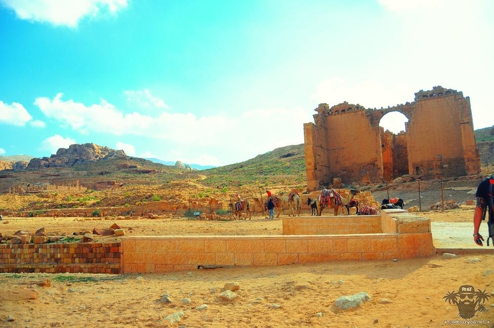 Petra, Grand Temple, al-Kasr