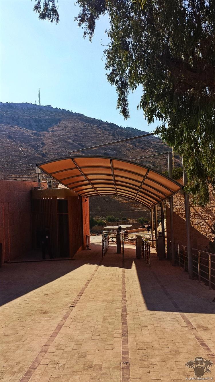 Petra, wejście