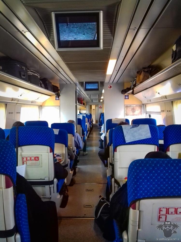 Podróż Życia, irański pociąg