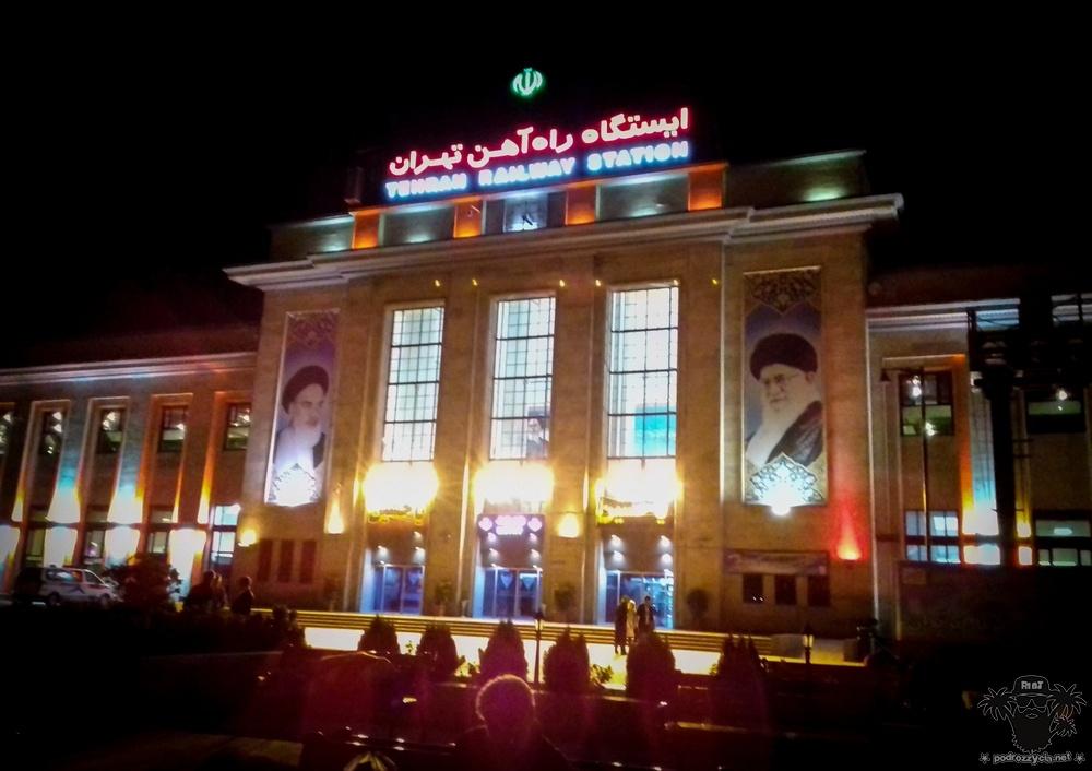 Podróż Życia, Iran, Teheran, dworzec kolejowy