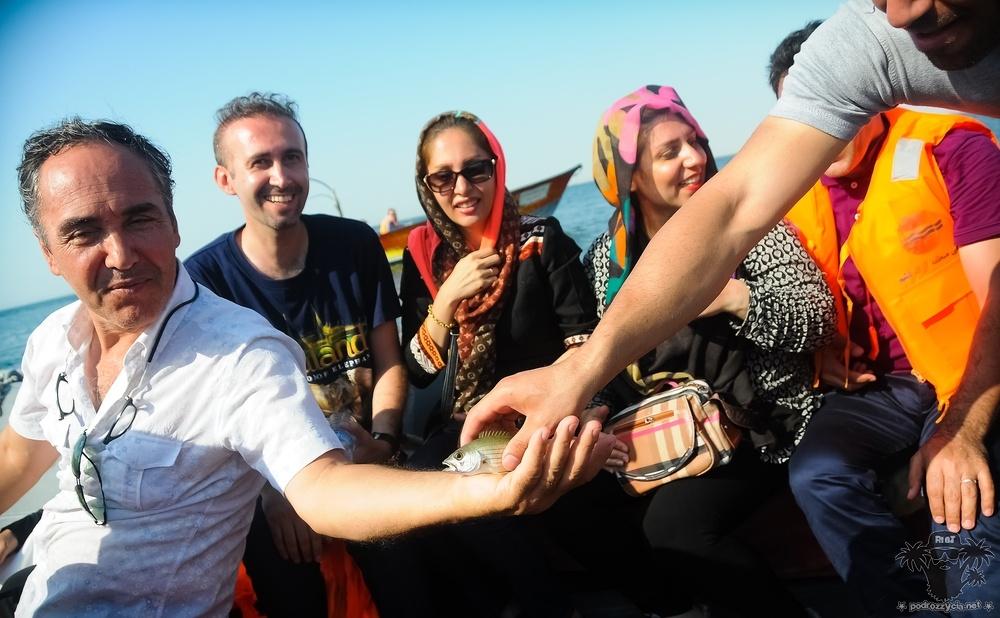 Podróż Życia, Iran, Keszm, zatoka Perska