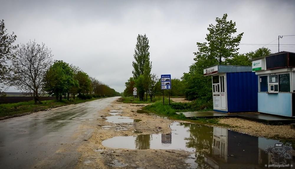 Podróż Życia, Mołdawia, przejście graniczne z Ukrainą