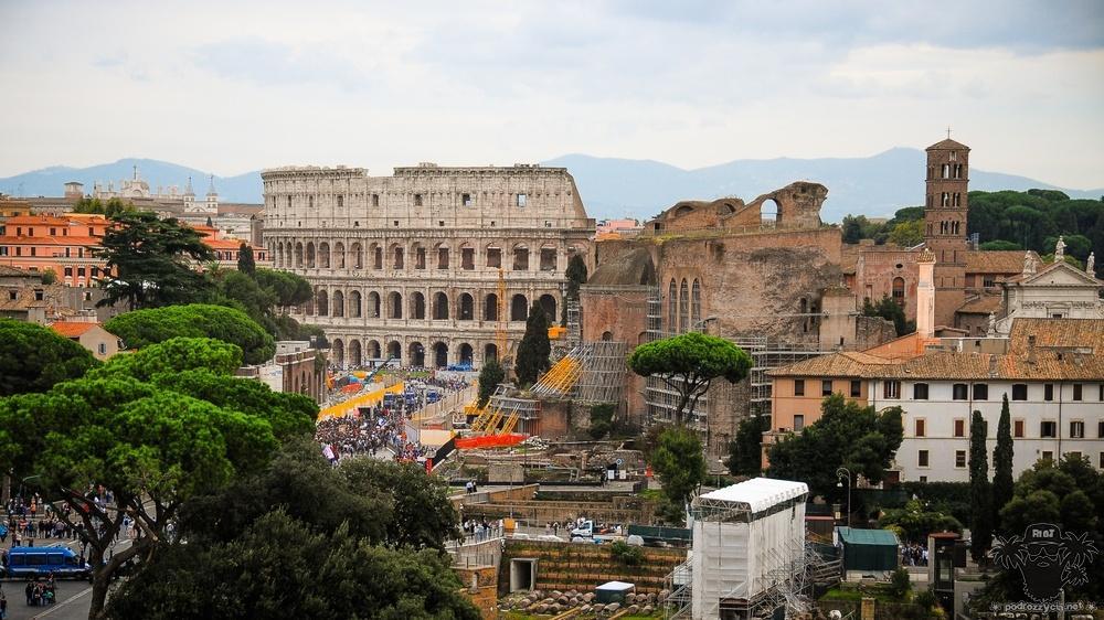 Podróż Życia, Rzym, Forum Romanum/Koloseum