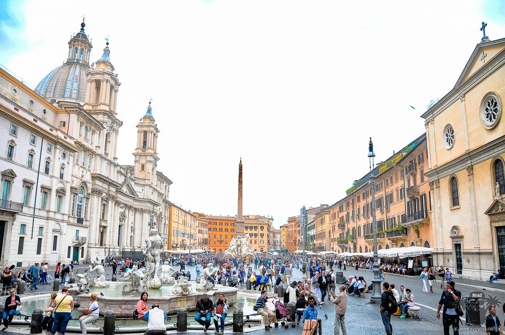 Podróż Życia, Rzym, Piazza Navona